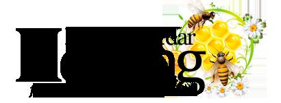 Honung från Sveriges Trädgård - Lyckå Bigårdar Logo